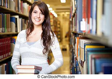 carrera mezclada, ollege, estudiante