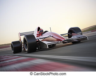 carreras de automóvil, pista, carrera