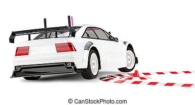 carreras de automóvil, rc