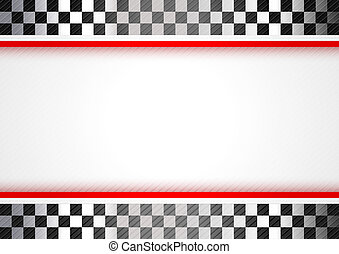 carreras, fondo rojo