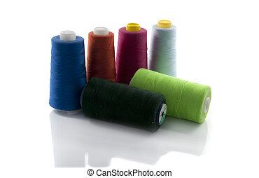 carrete, algodón