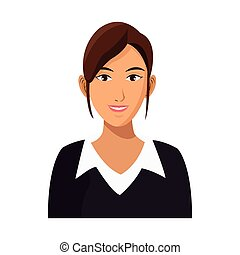 carrière, businesswoman, werken, professioneel