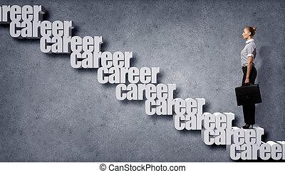 carrière, groei