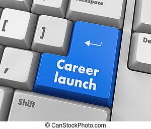 carrière, lancement