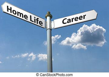 carrière, maison, ou