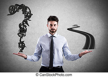 carrière, manière, facile,  Business, difficile