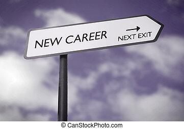carrière, nouveau