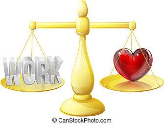 carrière, ou, relation, balances