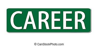 carrière, straatteken