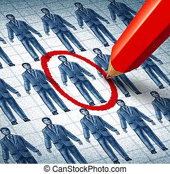 carrière, zoeken