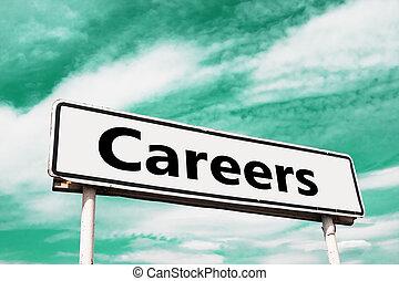 carrières, panneaux signalisations