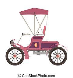 Carriage horse vector cinderella illustration princess silhouette design vintage isolated fairstyle coach retro