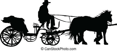carriage illustration