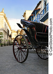 Carriage in old Havana