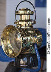 Carriage Lamp from a 1904 vintage car