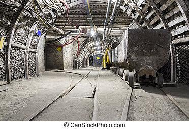 carriage., minería