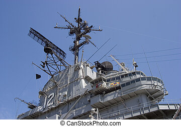Carrier Bridge 2 - The bridge of the aircraft carrier...