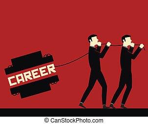 carriera, uomo affari