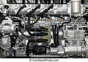 carril, diesel, común