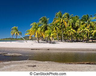 Carrillo Beach in the near of Samara, Costa Rica