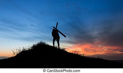 carring, krzyż