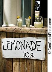 carrinho limonada