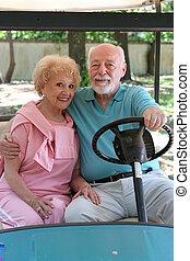 carro del golf, -, romance