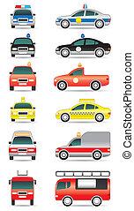 carros, propósito, especiais