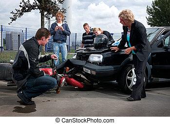 carrosserie, beschadigen