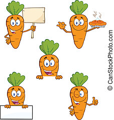 Carrot Characters 2. Set Collection