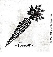 Carrot cutting scheme