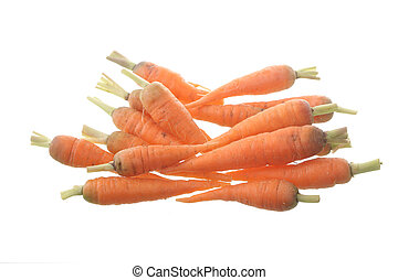Carrot isolated in white background