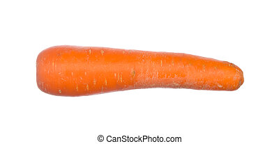 Carrot isolated on white