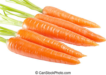 Carrot isolated on a white background