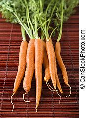 Carrot still life.
