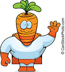 Carrot Superhero