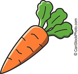 illustration of carrots vector clip art search illustration rh canstockphoto com carrot clip art free images carrots clipart black and white