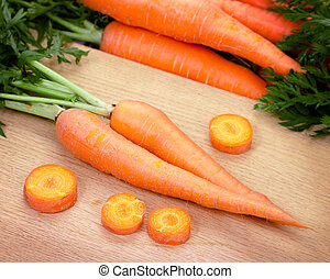 Carrots isolated on white background - Carrots isolated on...