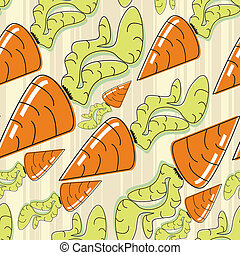 carrots - seamless pattern