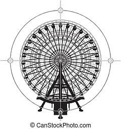 carrousel, compas