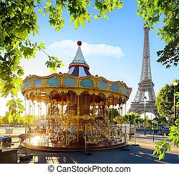 carrousel, france