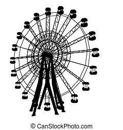 carrousel, vecteur, 01