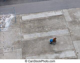 carrozzella, sinistra