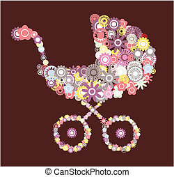 carruagem bebê