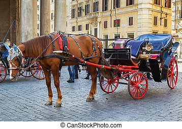 carruagem, roma