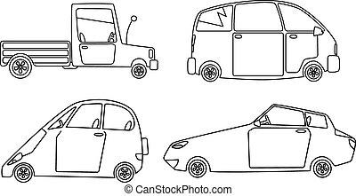 Cars design set