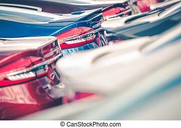 Cars Factory Lot