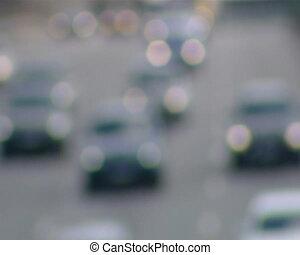 cars focus run highway - cars focus running on highway down...