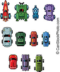 Cars For Computer Games - Assorted Cool Small Cartoon Cars...