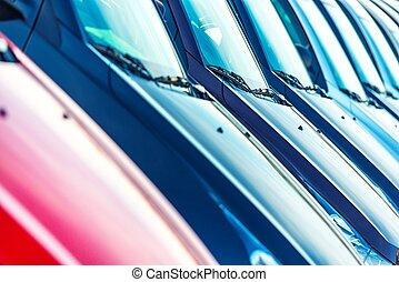 Cars For Sale Closeup
